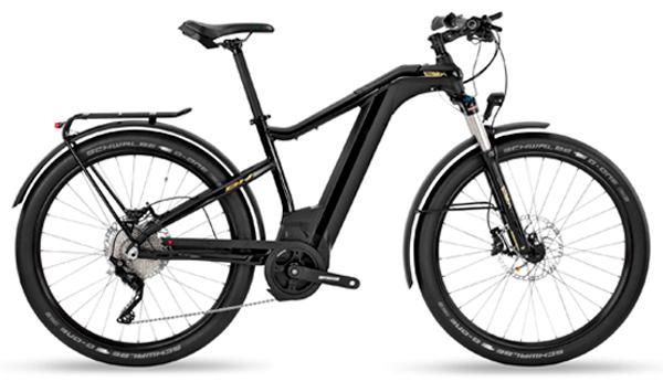 Bicicleta de trekking electrica