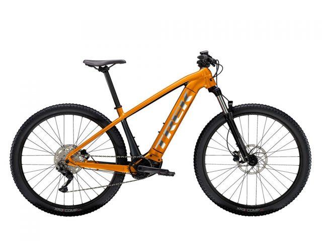 bicicleta color naranja