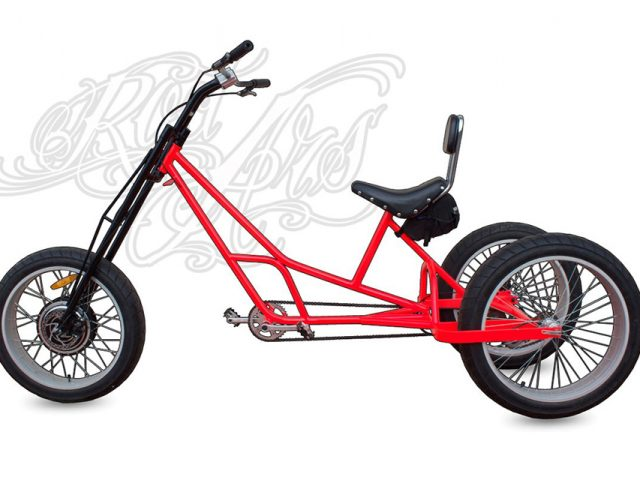 Fat Trike Invictus Lateral